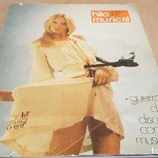 Revistas de música: REVISTA HILO MUSICAL Nº 35 / GUERRA DE DISCOS CONTRA MÚSICOS / INTERESANTES REPORTAJES - AÑO 1974. Lote 192627231