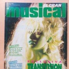 Revistas de música: EL GRAN MUSICAL NUM 340 + SUPLEMENTO ESPECIAL THE DOORS. Lote 192781460