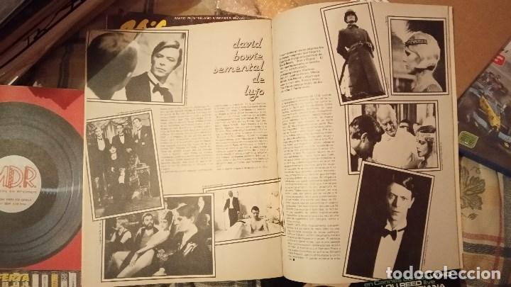 Revistas de música: Vibraciones nº 53, Feb 1979. Lindsay Kemp, Rod Stewart, Peter Tosh, Bowie,The Beach Boys,Kevin Ayers - Foto 3 - 112364523