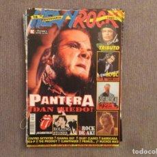 Revistas de música: HEAVY ROCK :NUM.170-PANTERA-EXTREMODURO-BARRICADA. Lote 193836030