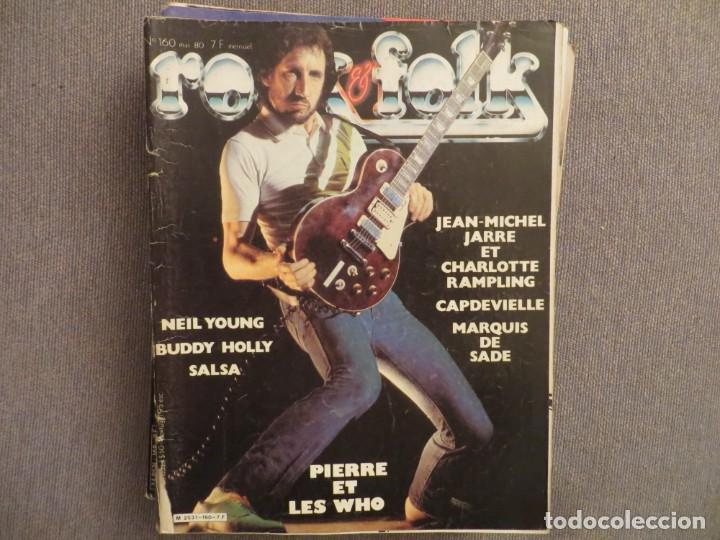 ROCK & FOLK:N.160-THE WHO-JEAN MICHEL JARRE-NEIL YOUNG-BUDDY HOLLY-CRAMPS-GENESIS (Música - Revistas, Manuales y Cursos)