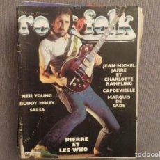Revistas de música: ROCK & FOLK:N.160-THE WHO-JEAN MICHEL JARRE-NEIL YOUNG-BUDDY HOLLY-CRAMPS-GENESIS. Lote 194335429