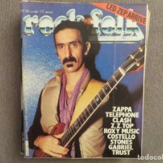 Revistas de música: ROCK & FOLK:N.161-FRANK ZAPPA-THE CLASH-LED ZEPPELIN-ROXY MUSIC-PETER GABRIEL. Lote 194335554