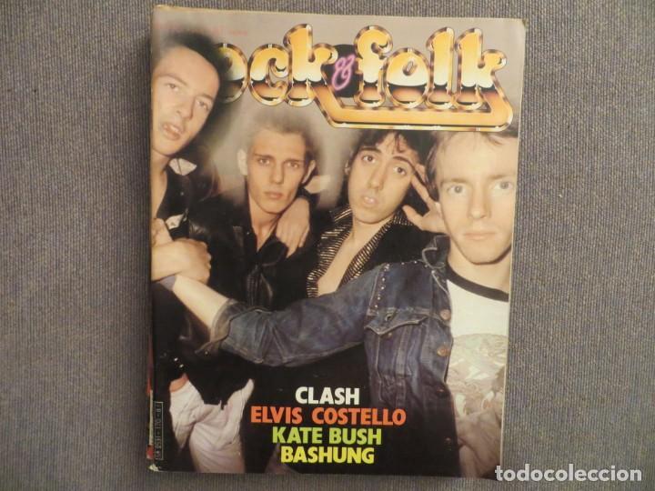 ROCK & FOLK:N.170-THE CLASH-ELVIS COSTELLO-KATE BUSH-WENDY OWILLIAMS-IRON MAIDEN (Música - Revistas, Manuales y Cursos)