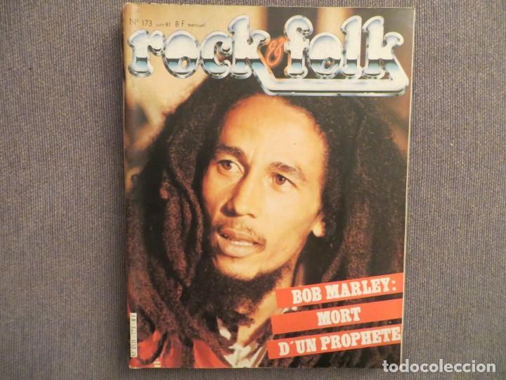 ROCK & FOLK:N.173-BOB MARLEY-MARC BOLAN-ROGER DALTREY-THE POLICE-THE CRAMPS (Música - Revistas, Manuales y Cursos)