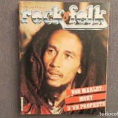 Revistas de música: ROCK & FOLK:N.173-BOB MARLEY-MARC BOLAN-ROGER DALTREY-THE POLICE-THE CRAMPS. Lote 194336276