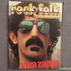 Revistas de música: ROCK & FOLK:N.181-F.ZAPPA-ALICE COOPER-JEAN M. JARRE-KING CRIMSON-FLEETWOOD MAC. Lote 194336576