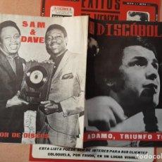 Revistas de música: DISCOBOLO 139, ENERO 1968 ADAMO, TUSSET STREET, THE HERD, REQUIEM POR OTIS REDDING. Lote 194593725