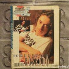 Revistas de música: POPULAR 1 ESPECIAL N.158- ROSENDO (INCLUYE SUPER POSTER) !!!!!!!!!!. Lote 194634730