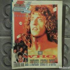 Revistas de música: POPULAR 1 ESPECIAL N.164- THE WHO (INCLUYE SUPER POSTER) !!!!!!!!!!. Lote 194634972