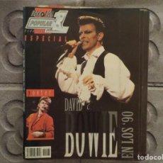 Revistas de música: POPULAR 1 ESPECIAL N.169- DAVID BOWIE (INCLUYE SUPER POSTER) !!!!!!!!!!. Lote 194635140