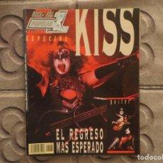 Revistas de música: POPULAR 1 ESPECIAL N.180- KISS !!!!!!!!!1. Lote 194635272