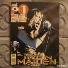 Revistas de música: POPULAR 1 ESPECIAL N.200- IRON MAIDEN ( INCLUYE POSTER GIGANTE) !!!!!!. Lote 194635472