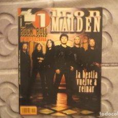 Revistas de música: POPULAR 1 ESPECIAL N.204- IRON MAIDEN ( INCLUYE POSTER GIGANTE) !!!!!!. Lote 194635537