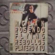 Revistas de música: POPULAR 1 ESPECIAL N.185-ROSENDO-M.CLAN-PLATERO Y TU-FLYING REBOLLOS ( INCLUYE POSTER GIGANTE)!!!. Lote 194635792