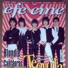 Revistas de música: REVISTA EFE EME Nº 5, MARZO 1999. TEQUILA, BLONDIE, CANTAORAS, VÍCTOR JARA, CIUDAD JARDÍN, ROSARIO . Lote 194730583