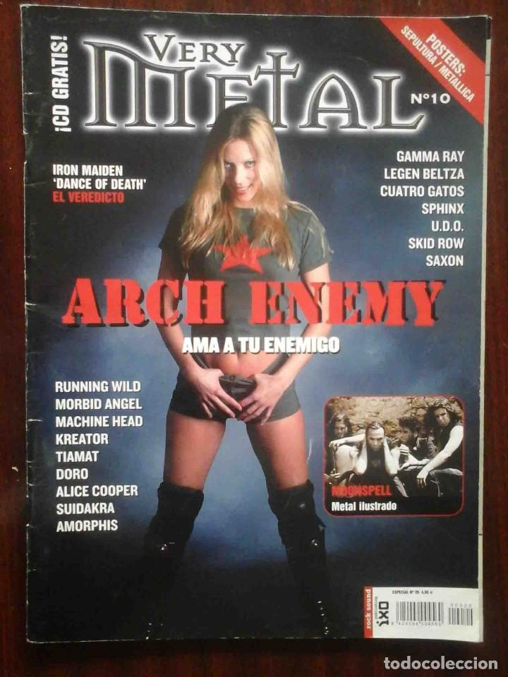 Revistas de música: Revista Very Metal 10 y 12 + 1 rock Hard 30 - 2 pósters. - Foto 2 - 194733137