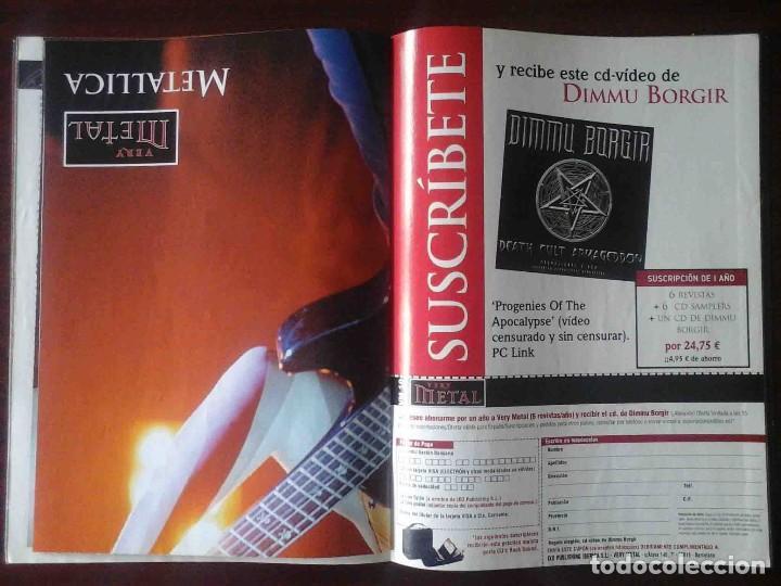 Revistas de música: Revista Very Metal 10 y 12 + 1 rock Hard 30 - 2 pósters. - Foto 5 - 194733137
