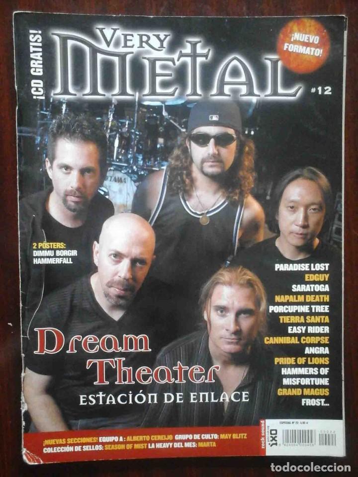 Revistas de música: Revista Very Metal 10 y 12 + 1 rock Hard 30 - 2 pósters. - Foto 6 - 194733137