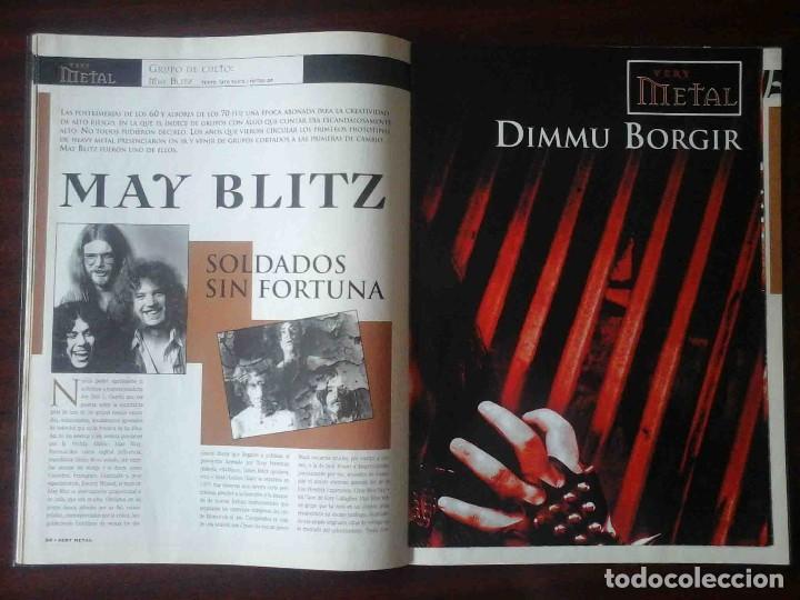 Revistas de música: Revista Very Metal 10 y 12 + 1 rock Hard 30 - 2 pósters. - Foto 7 - 194733137