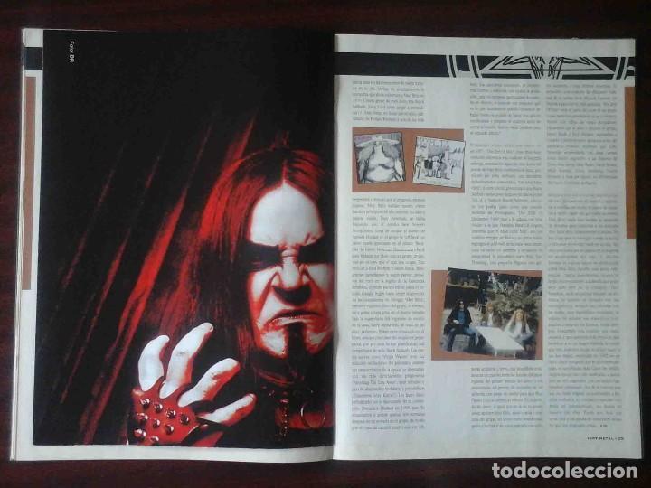 Revistas de música: Revista Very Metal 10 y 12 + 1 rock Hard 30 - 2 pósters. - Foto 9 - 194733137