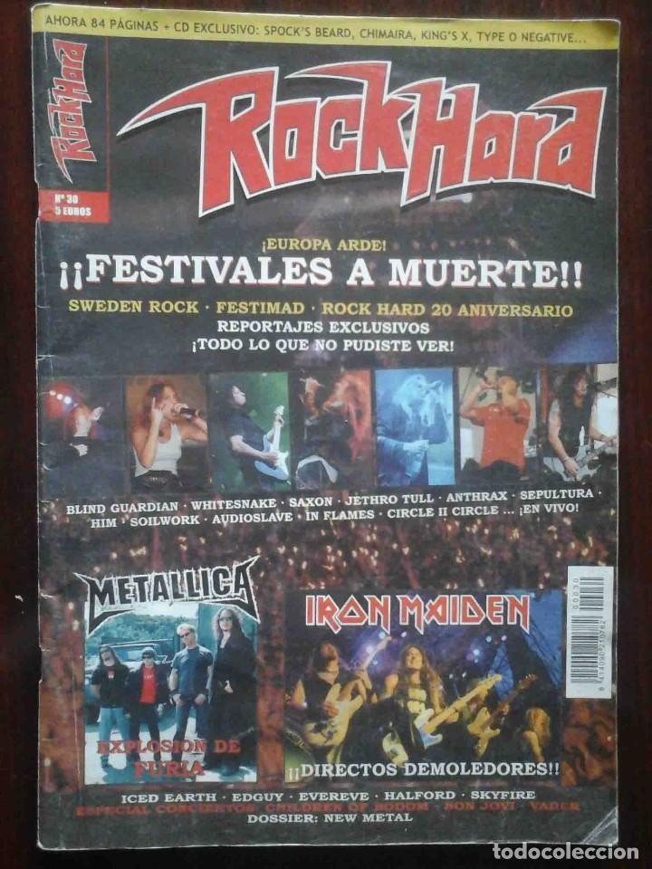 Revistas de música: Revista Very Metal 10 y 12 + 1 rock Hard 30 - 2 pósters. - Foto 10 - 194733137