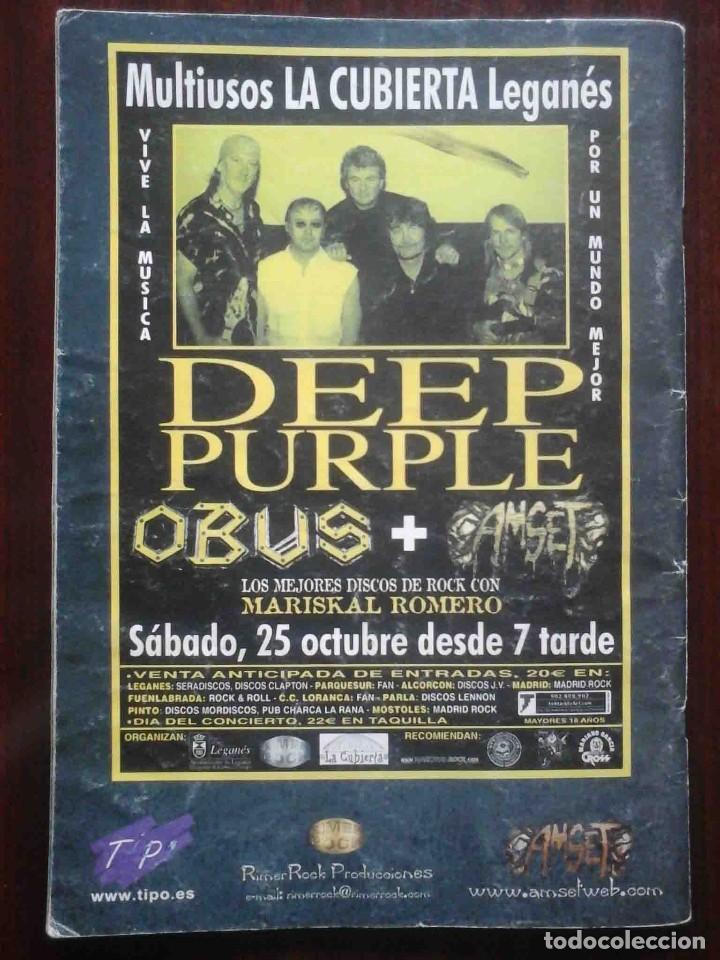 Revistas de música: Revista Very Metal 10 y 12 + 1 rock Hard 30 - 2 pósters. - Foto 13 - 194733137