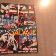 Revistas de música: REVISTA METAL - NUMERO 270 -. Lote 194780375
