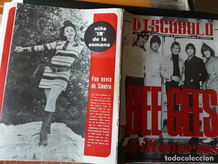 DISCOBOLO 145, FEBRERO 1968, BEE GEES MILLONARIOS, RAFFAELLA CARRA MORENA, PIC NIC, CAT STEVENS (Música - Revistas, Manuales y Cursos)