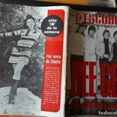 Revistas de música: DISCOBOLO 145, FEBRERO 1968, BEE GEES MILLONARIOS, RAFFAELLA CARRA MORENA, PIC NIC, CAT STEVENS. Lote 194858953