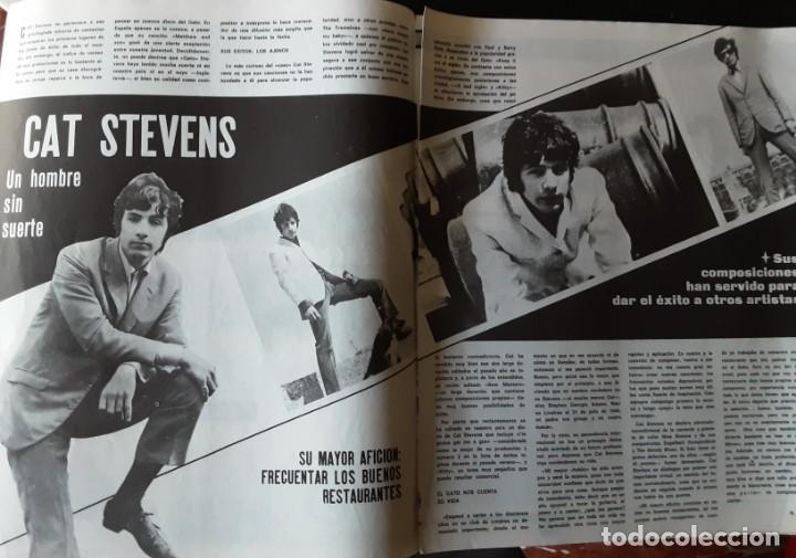 Revistas de música: DISCOBOLO 145, FEBRERO 1968, BEE GEES MILLONARIOS, RAFFAELLA CARRA MORENA, PIC NIC, CAT STEVENS - Foto 2 - 194858953