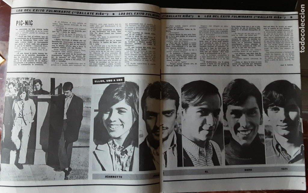 Revistas de música: DISCOBOLO 145, FEBRERO 1968, BEE GEES MILLONARIOS, RAFFAELLA CARRA MORENA, PIC NIC, CAT STEVENS - Foto 3 - 194858953