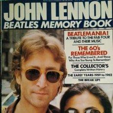 Revistas de música: REVISTA MONOGRÁFICA ''JOHN LENNON. BEATLES MEMORY BOOK'' (1981). Lote 195059205
