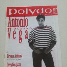 Revistas de música: POLYDOR NEWS - Nº1 - MAYO 1994 // ANTONIO VEGA NACHA POP REVISTA PROMOCIONAL POLYGRAM IBERICA. Lote 195128956