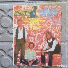 Revistas de música: POPULAR 1 :N.125-GENESIS-DESECHABLES-LOQUILLO Y TROGLODITAS-LOS BURROS-BANZAI-ÑU-MOODY BLUES. Lote 195136813
