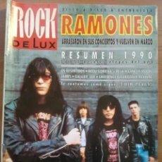 Revistas de música: ROCK DE LUX NUM 71. RAMONES, OS RESENTIDOS, NEGU GORRIAK, GALAXIE 500, JAMES.. Lote 195172667