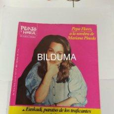 Revistas de música: PUNTO Y HORA 1987 / PEPA FLORES / ENTREVISTA VARIAS PAGINAS / MUY RARO . Lote 195146796
