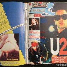 Riviste di musica: POPULAR 1 :N.237-U2-PRINCE-METALLICA-GUNS N ROSES-SUEDE-LOQUILLO-LEMONHEADS. Lote 195327132