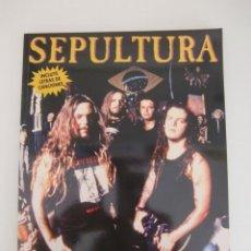 Revistas de música: SEPULTURA / COLECCION IMAGENES DE ROCK N 38 / FRANCESC XAVIER CERVANTES / LA MASCARA. Lote 195504411