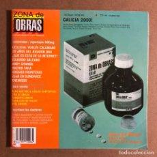 Revistas de música: ZONA DE OBRAS N° 15 (1999). 20 AÑOS DE AVIADOR DRO, ANDRÉS CALAMARO, LOS ENEMIGOS, ANDY CHANGO,.... Lote 195518717