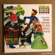 Revistas de música: ZONA DE OBRAS N° 9 (1997). ALASKA, SABINO MÉNDEZ, LA HABITACIÓN ROJA,.... Lote 195520271