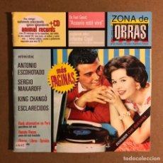 Revistas de música: ZONA DE OBRAS N° 8 (1997). ANTONIO ESCOHOTADO, SERGIO MAKAROFF, ESCLARECIDOS, ROCK ALTERNATIVO. Lote 195520796