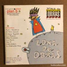 Revistas de música: ZONA DE OBRAS N° 12 (1998). PEDRO ALMODÓVAR, LOS PLANETAS, LOS PECOS, MIKEL ERENTXUN, EN NIÑO GUSANO. Lote 195520952