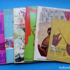 Revistas de música: GRAN TEATRO DEL LICEO, BARCELONA, 7 REVISTAS TEMPORADAS AÑOS 1950-1960 - VER FOTOS ADICIONALES. Lote 195701656