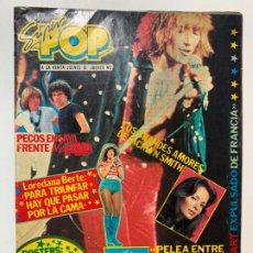 Revistas de música: REVISTA SUPER POP SUPERPOP Nº 28 LOS PECOS BEE GEES ROD STEWART LOREDANA BERTE. Lote 195714650
