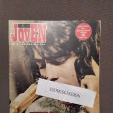 Revistas de música: MUNDO JOVEN 137: SERRAT, THE FLIRTATIONS,MARI TRINI, SMASH, OM,TOTI SOLER, ENRIC SIO AGHARDI, . Lote 195819455