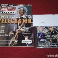 Revistas de música: REVISTA + METALLICA CD ( GUITARRA TOTAL Nº 23 ) MARZO DEL 2000. Lote 196221132
