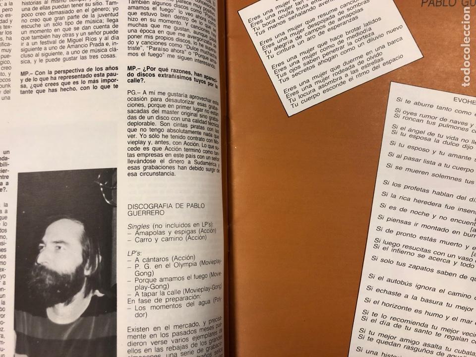 Revistas de música: MÚSICA POPULAR N° 1 (1984). PABLO GUERRERO, AUTE, SISA, GATO PEREZ, OSKORRI, FLAMENCO - Foto 4 - 196278093