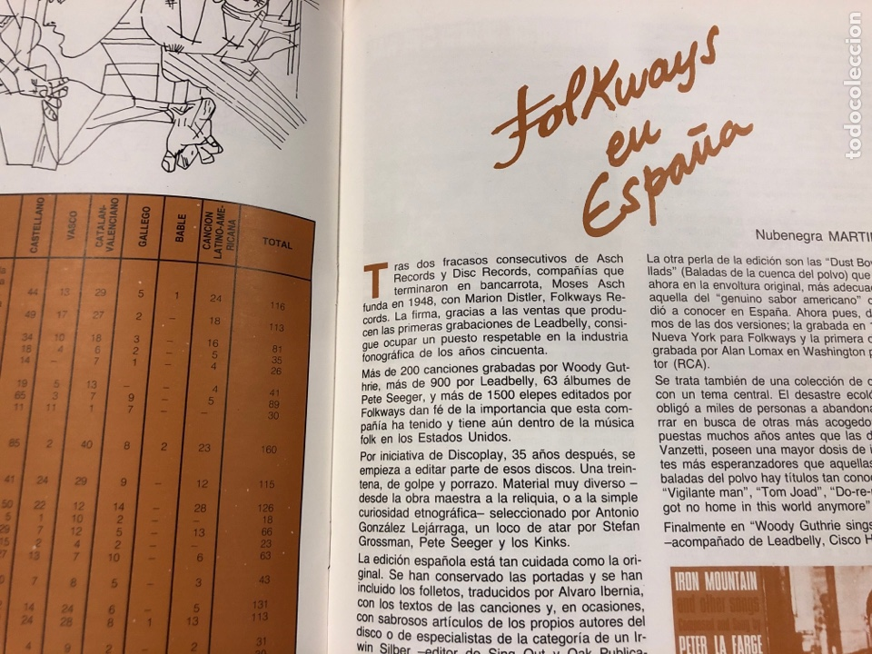 Revistas de música: MÚSICA POPULAR N° 1 (1984). PABLO GUERRERO, AUTE, SISA, GATO PEREZ, OSKORRI, FLAMENCO - Foto 7 - 196278093