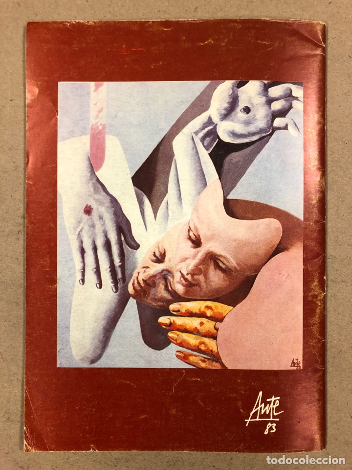 Revistas de música: MÚSICA POPULAR N° 1 (1984). PABLO GUERRERO, AUTE, SISA, GATO PEREZ, OSKORRI, FLAMENCO - Foto 10 - 196278093